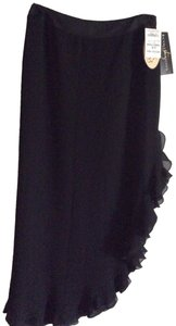 JS Collections Maxi Skirt Black