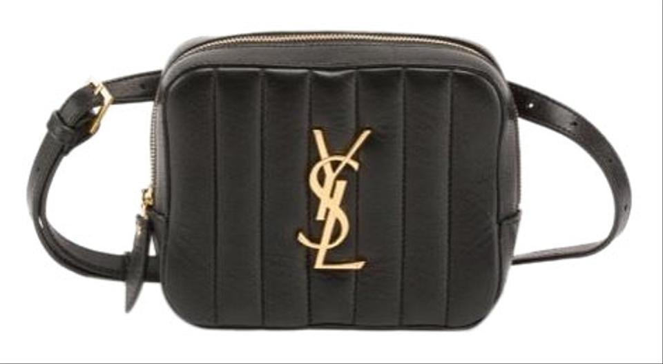 2675210b55e Saint Laurent Vicky Ysl Quilted Leather Belt Cross Body Bag - Tradesy