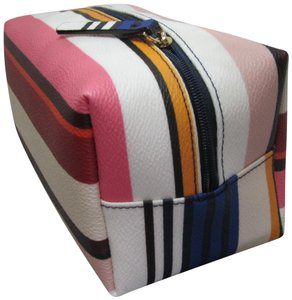 Kate Spade Kate Spade Shore Street Berber Stripe Medium Davie cosmetic bag 9b06be48efeea
