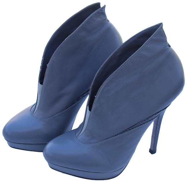 Item - Gray Ankle Boots/Booties Size US 5.5 Regular (M, B)