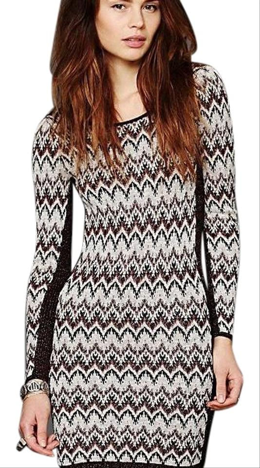 61fa9d7ea9 Free People Cozy Cabin Sweater Short Night Out Dress Size 12 (L ...