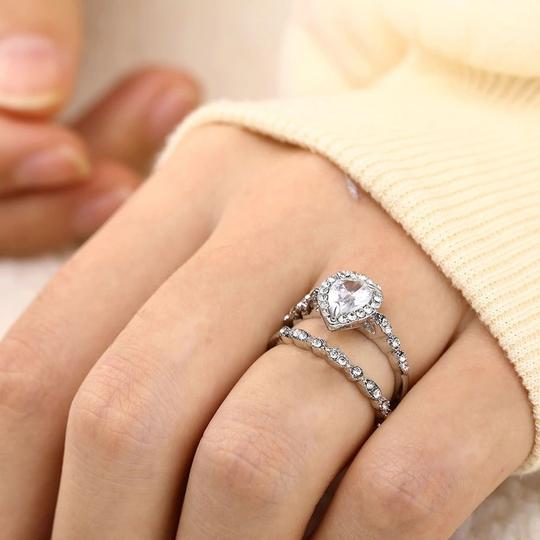 Fashion Engagement Woman Heart Zircon Ring Double Rings Set Bijoux Fine or Fashion Fashion Item Type Rings Style Trendy Occasion Wedding Surface Width 3mm Rings Type Wedding Bands is_customized Yes Material Crystal Metals Type Zinc Alloy Shape\pattern Heart Setting Type Pave Setting Gender Women Function Women Ring Compatibility Heart Zircon Ring Feature High Quality Color Silver Color Season Spring Summer Fall Winter 2018 New Design Woman Engagement Band Ring Fashion Engagement Woman Heart Zircon Ring Double Rings Set Bijoux Fine or Fashion Fashion Item Type Rings Style Trendy Occasion Wedding Surface Width 3mm Rings Type Wedding Bands is_customized Yes Material Crystal Metals Type Zinc Alloy Shape\pattern Heart Setting Type Pave Setting Gender Women Function Women Ring Compatibility Heart Zircon Ring Feature High Quality Color Silver Color Season Spring Summer Fall Winter 2018 New Design Woman Engagement Band Ring Image 5