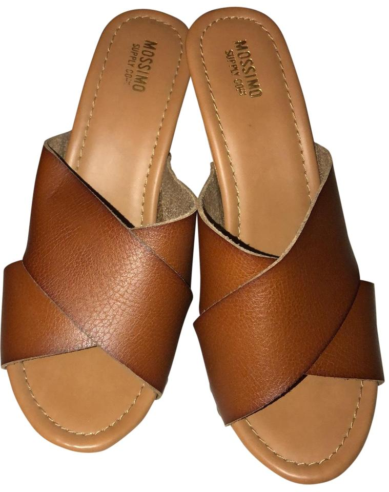 0cca74c4522 Mossimo Supply Co. Brown Sandals. Size  US 7 Regular (M ...