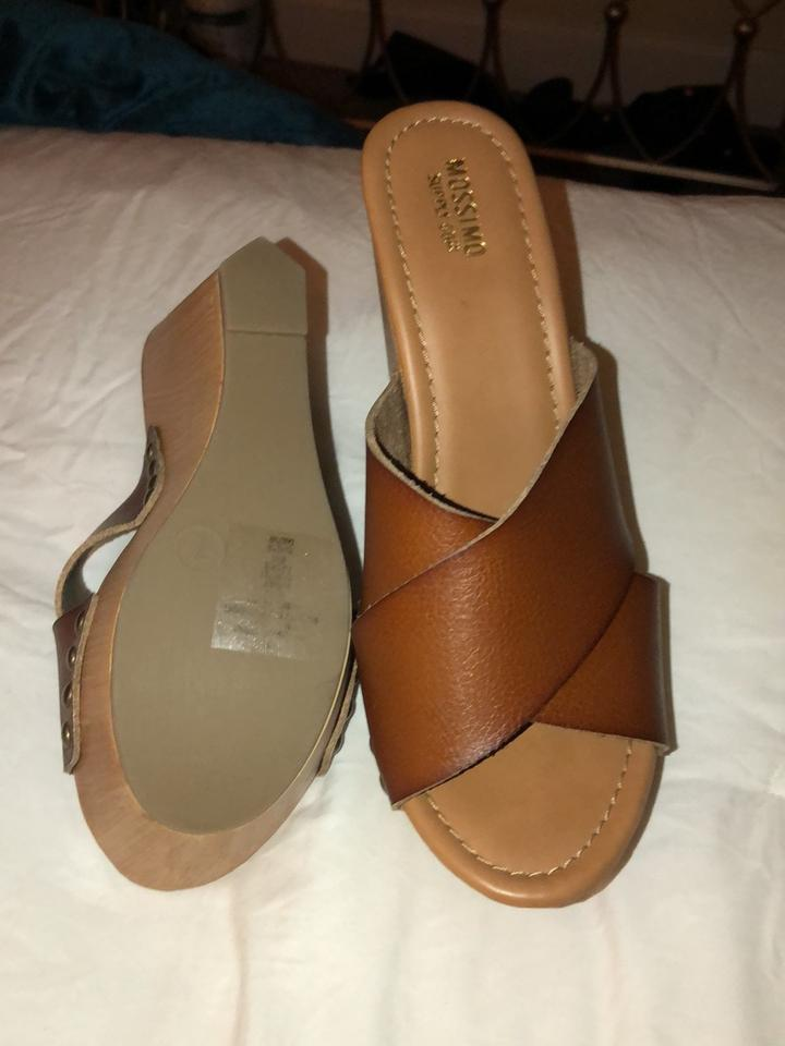 f3f56556a70 Mossimo Supply Co. Brown Sandals Size US 7 Regular (M