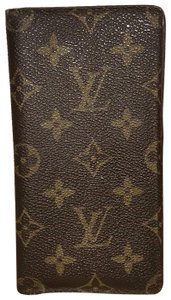 13a11c7940ee Louis Vuitton Brown Checkbook Cover Wallet - Tradesy