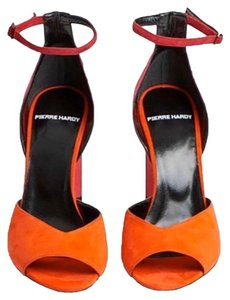 Pierre Hardy Multi Red Sandals