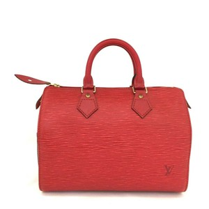 Louis Vuitton Satchel in Red