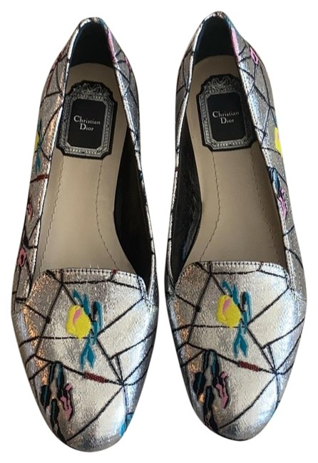 Item - Multi/ Silver By Raf Simons Flats Size EU 37 (Approx. US 7) Regular (M, B)