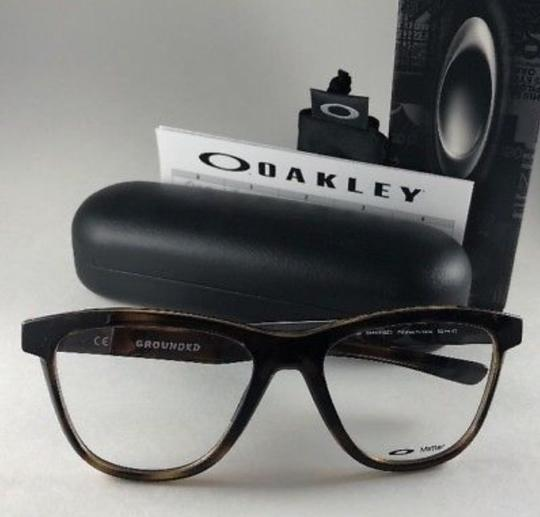 Oakley New OAKLEY Eyeglasses GROUNDED OX8070-0253 Polished Tortoise Frame 53 Image 1