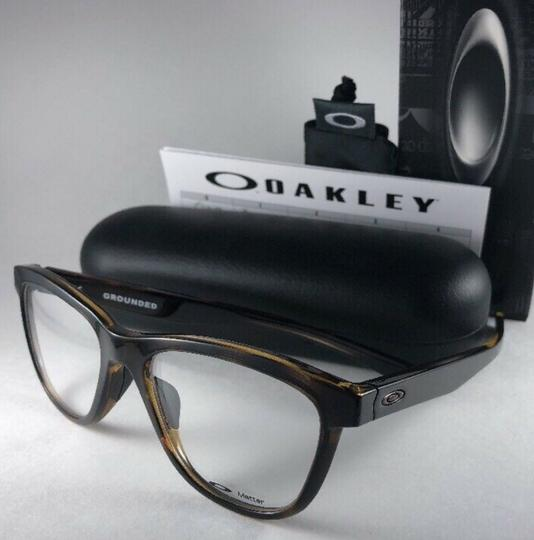 Oakley New OAKLEY Eyeglasses GROUNDED OX8070-0253 Polished Tortoise Frame 53 Image 10