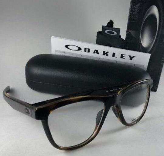 Oakley New OAKLEY Eyeglasses GROUNDED OX8070-0253 Polished Tortoise Frame 53 Image 2