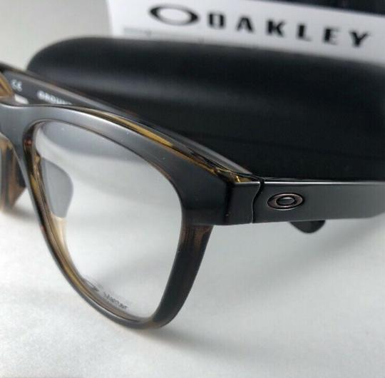 Oakley New OAKLEY Eyeglasses GROUNDED OX8070-0253 Polished Tortoise Frame 53 Image 7