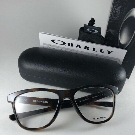 Oakley New OAKLEY Eyeglasses GROUNDED OX8070-0253 Polished Tortoise Frame 53 Image 8