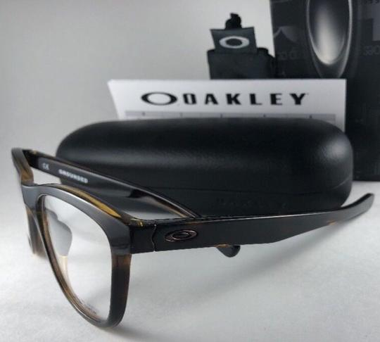 Oakley New OAKLEY Eyeglasses GROUNDED OX8070-0253 Polished Tortoise Frame 53 Image 9
