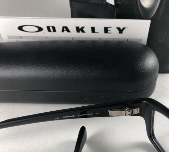 Oakley New OAKLEY Eyeglasses SERVO OX1066-0151 Stylish Polished Black Frame 5 Image 10
