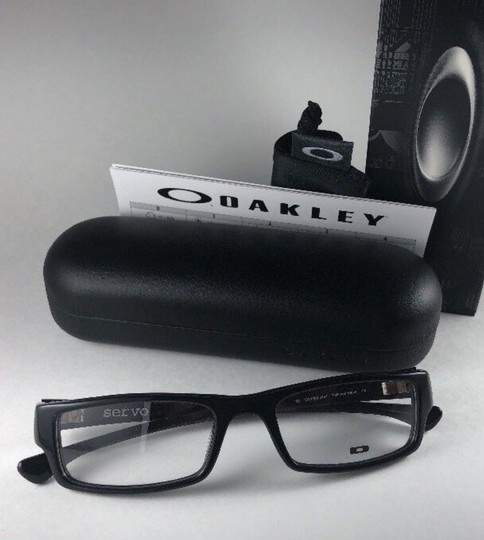 Oakley New OAKLEY Eyeglasses SERVO OX1066-0151 Stylish Polished Black Frame 5 Image 2