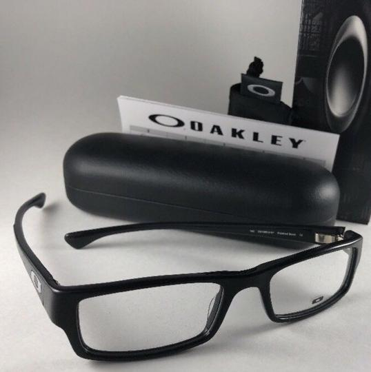 Oakley New OAKLEY Eyeglasses SERVO OX1066-0151 Stylish Polished Black Frame 5 Image 4