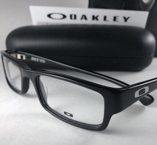 Oakley New OAKLEY Eyeglasses SERVO OX1066-0151 Stylish Polished Black Frame 5 Image 8