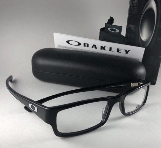 Oakley New OAKLEY Eyeglasses SERVO OX1066-0151 Stylish Polished Black Frame 5 Image 9