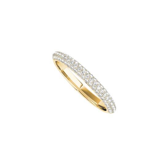 Preload https://img-static.tradesy.com/item/24944663/yellow-ladies-gold-wedding-band-for-women-with-cubic-zirconia-ring-0-0-540-540.jpg