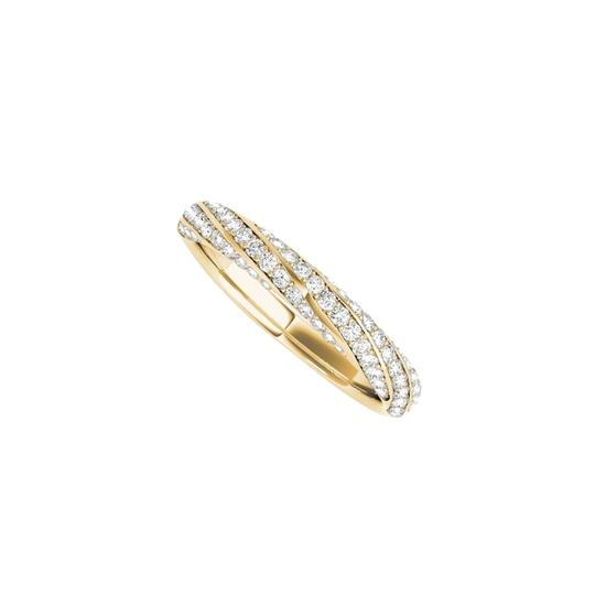 Preload https://img-static.tradesy.com/item/24944675/yellow-twisted-wedding-band-design-with-cz-in-14k-gold-ring-0-0-540-540.jpg