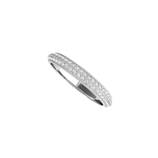 Preload https://img-static.tradesy.com/item/24944734/white-simple-gold-wedding-band-for-women-with-cubic-zirconia-ring-0-0-540-540.jpg