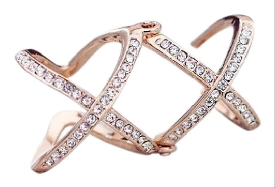 Preload https://img-static.tradesy.com/item/24944755/silver-2016-new-women-charming-crystals-goldsilver-plated-alloy-cross-for-women-plain-x-openings-mid-0-1-540-540.jpg