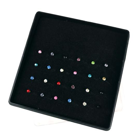Preload https://img-static.tradesy.com/item/24944789/multicolor-lot-of-24-nose-studs-surgical-crystal-0-0-540-540.jpg