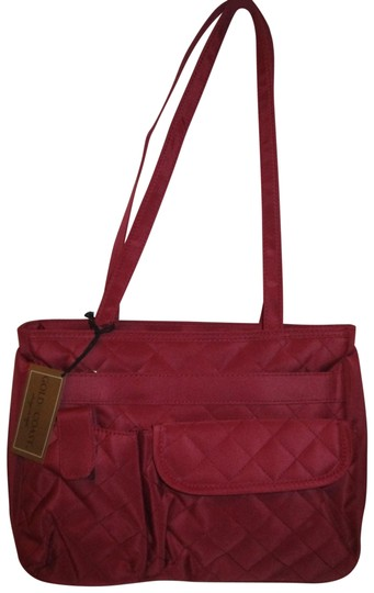 Preload https://img-static.tradesy.com/item/24944860/quilted-micro-fiber-wine-canvas-shoulder-bag-0-1-540-540.jpg