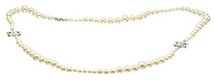 Chanel Chanel Classic CC Faux Pearl Necklace 488678