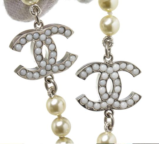 Chanel Chanel Classic CC Faux Pearl Necklace 488678 Image 3