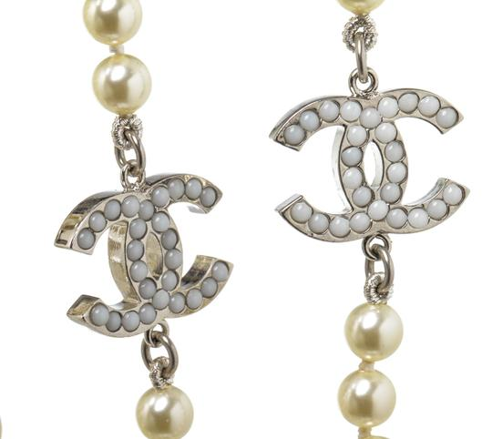 Chanel Chanel Classic CC Faux Pearl Necklace 488678 Image 4