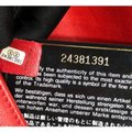 Chanel Label Chick Calfskin Satchel in Red Image 6