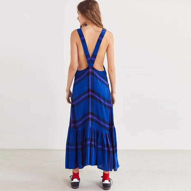 Blue Maxi Dress by Urban Outfitters Image 1