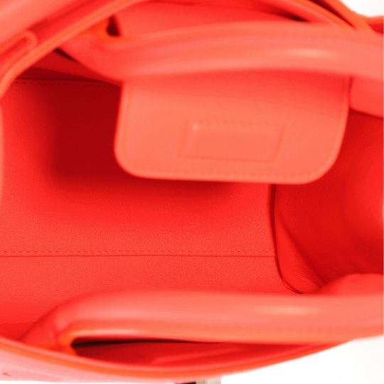 Dior Diorever Leather Satchel in Neon Pink Image 5