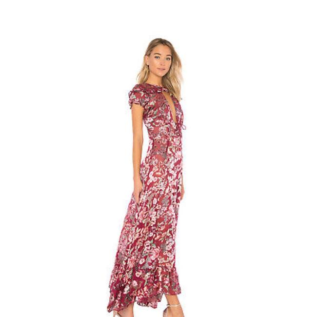 Item - Maroon 134985 Long Cocktail Dress Size 4 (S)