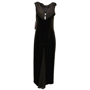Signature by Robbie Bee Velvet Long Size Dress