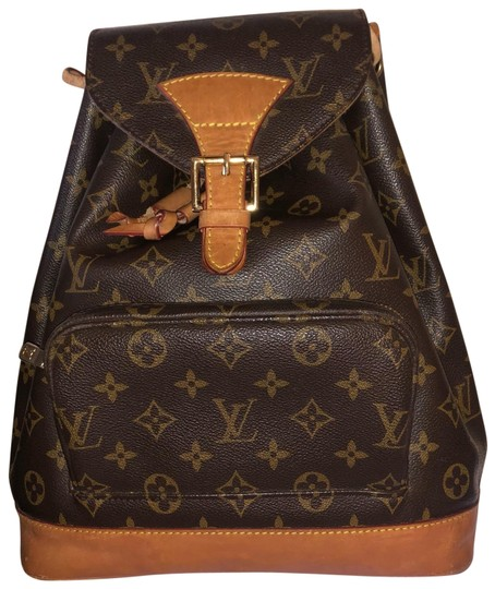 Preload https://img-static.tradesy.com/item/24945062/louis-vuitton-montsouris-monogram-with-straps-brown-leather-canvas-backpack-0-1-540-540.jpg