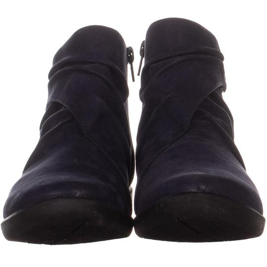 Clarks Blue Boots Image 1
