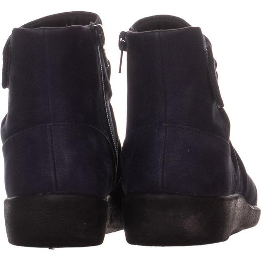 Clarks Blue Boots Image 2