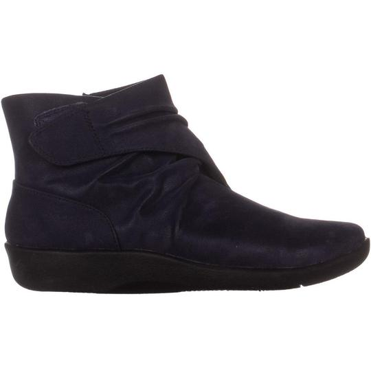 Clarks Blue Boots Image 3