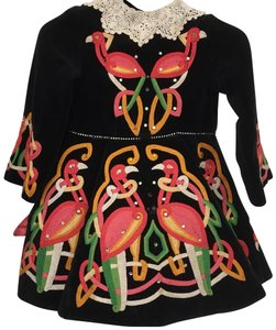 Other short dress black Irish Dance Embroidered on Tradesy