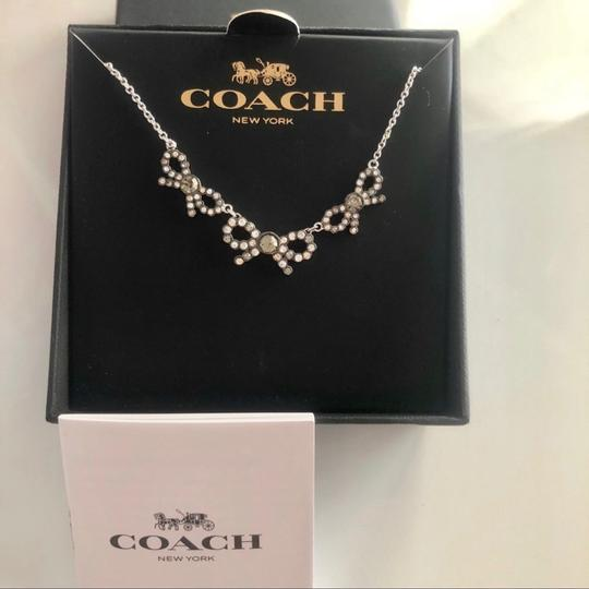 Coach Coach 3 Bow Necklace Image 2