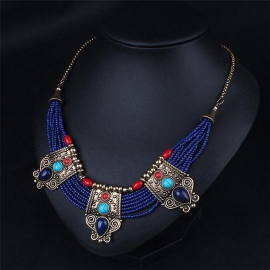 Other Cleopatra Lapis Collar Necklace Image 1