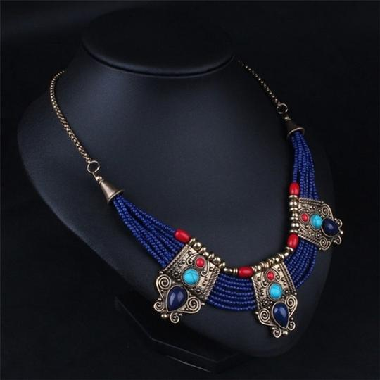 Other Cleopatra Lapis Collar Necklace Image 2