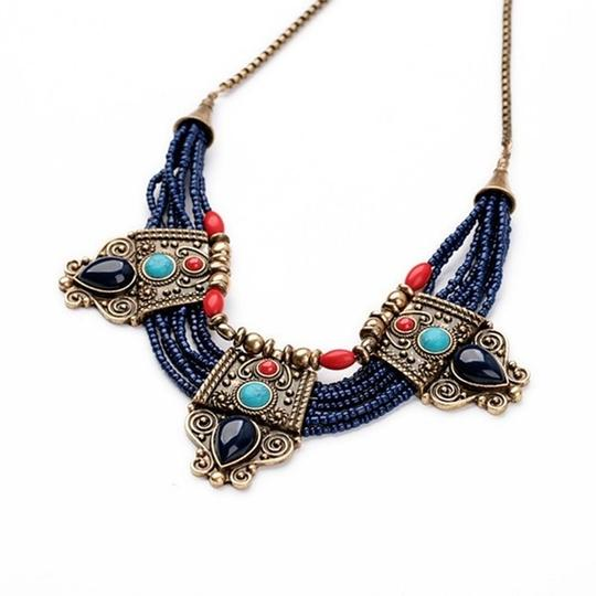 Other Cleopatra Lapis Collar Necklace Image 3