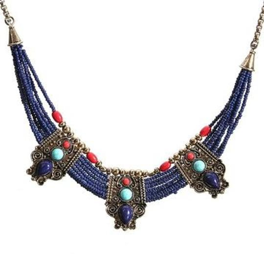 Other Cleopatra Lapis Collar Necklace Image 5