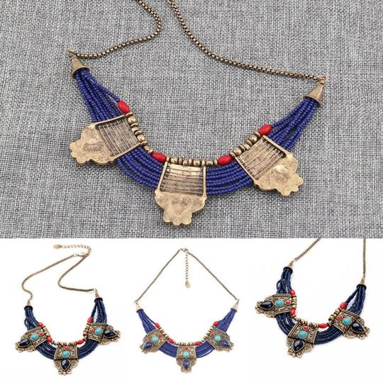 Other Cleopatra Lapis Collar Necklace Image 6
