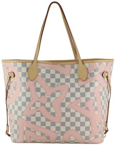 Louis Vuitton Neverfull Mm Tahitienne Neverfull Tahitienne Tote in Damier Azur