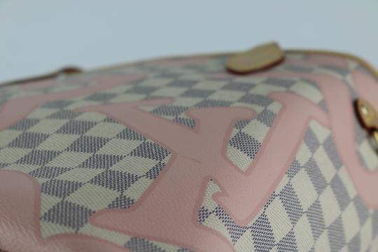 Louis Vuitton Neverfull Mm Tahitienne Neverfull Tahitienne Tote in Damier Azur Image 3